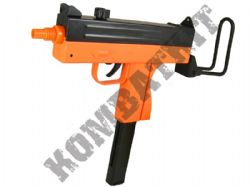 M42F Uzi Style Tactical Airsoft BB Gun Black and Orange